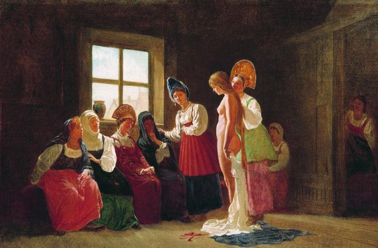 Как строилась супружеская жизнь на Руси