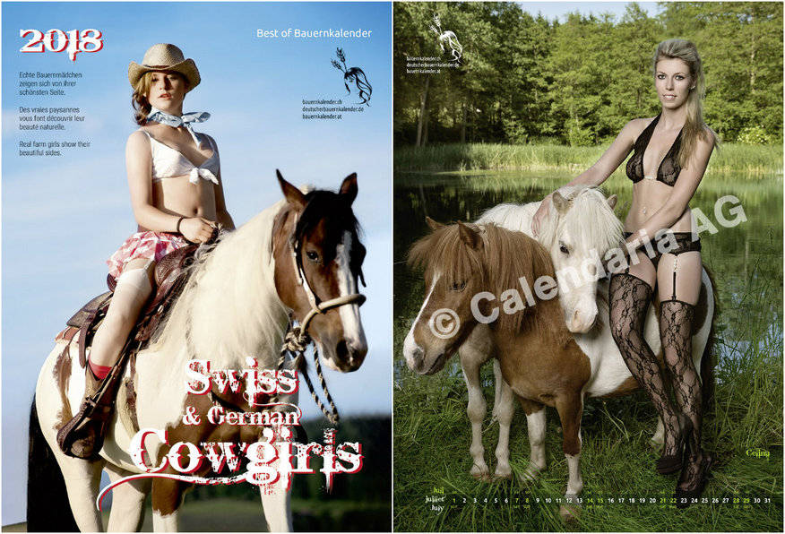 Календарь Swiss Cowgirls 2018