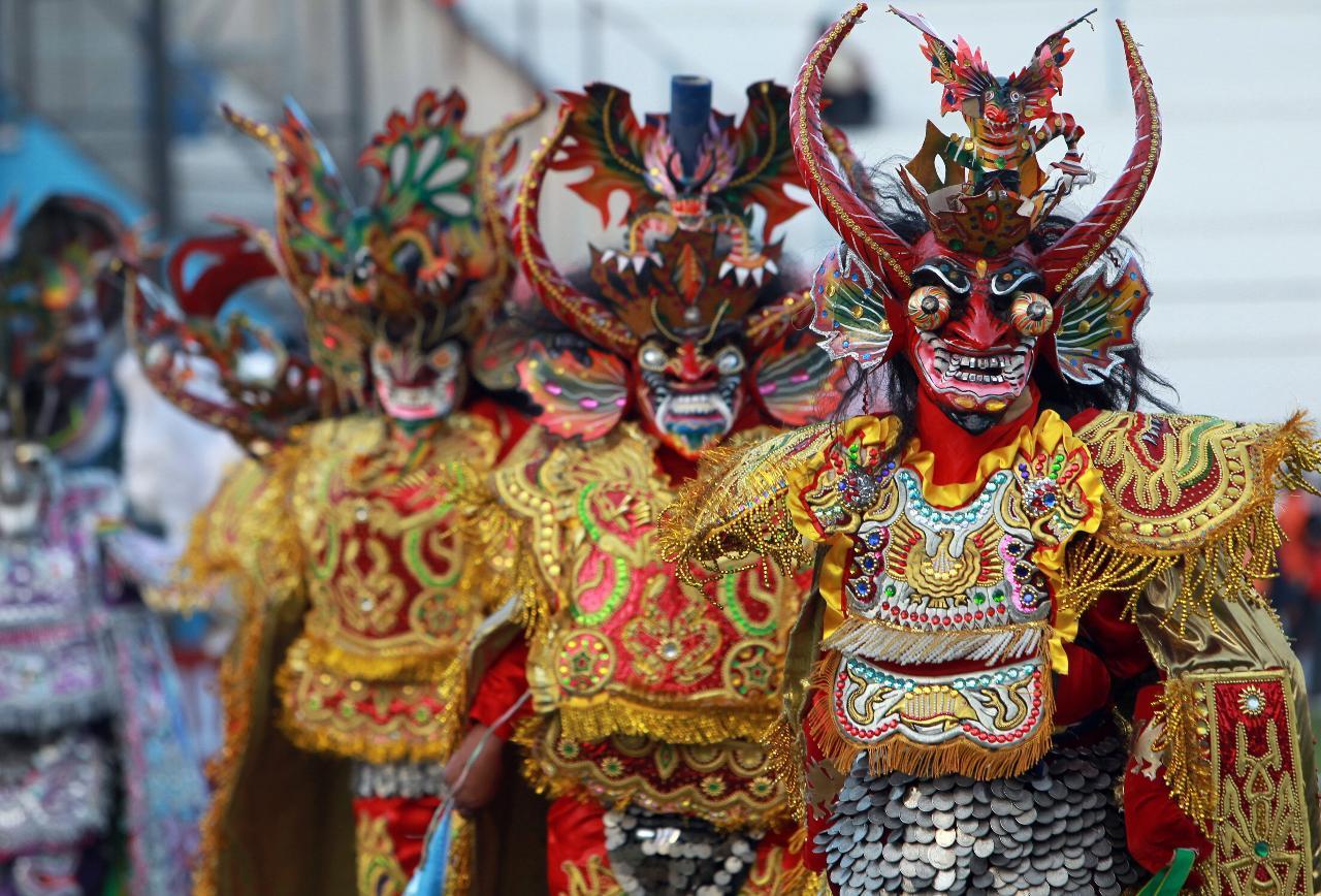 La Diablada — грандиозный праздник в Аргентине