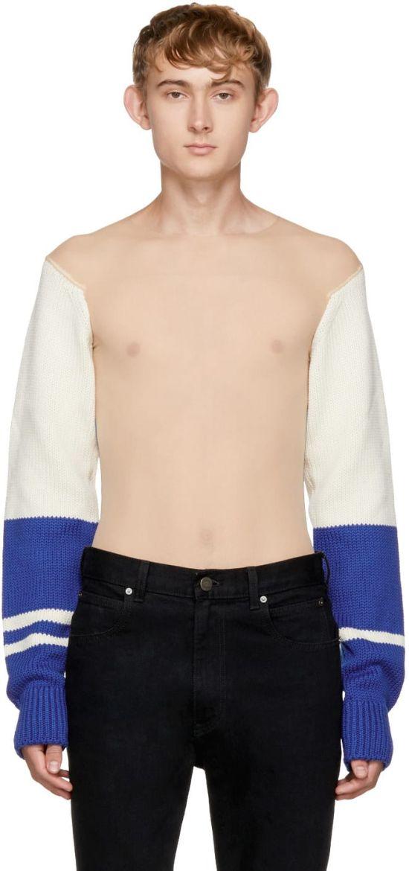 Прозрачный свитер от Calvin Klein за 1800 евро