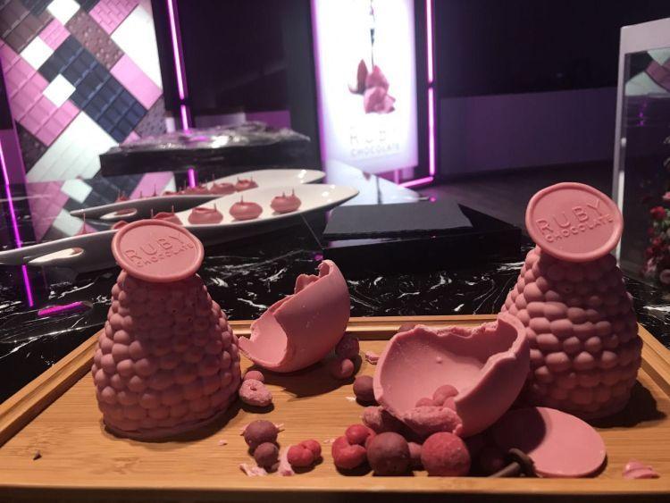 Розовый шоколад — первая инновация на рынке шоколада за 80 лет