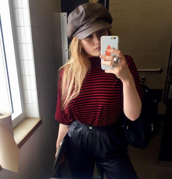 София Хаджипантели хочет ввести моду на «монобровь»