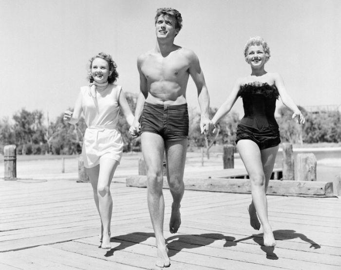 26-летний Клинт Иствуд в 1956 году