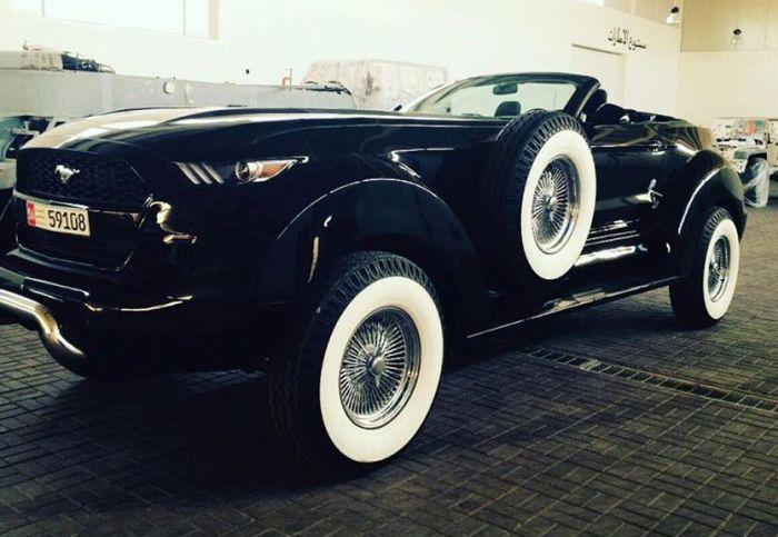 Уникальные автомобили из коллекции шейха