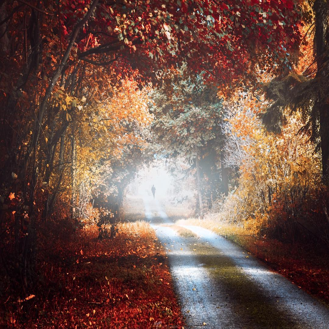Восхитительные пейзажи от Мэтта Оуэн-Хьюза