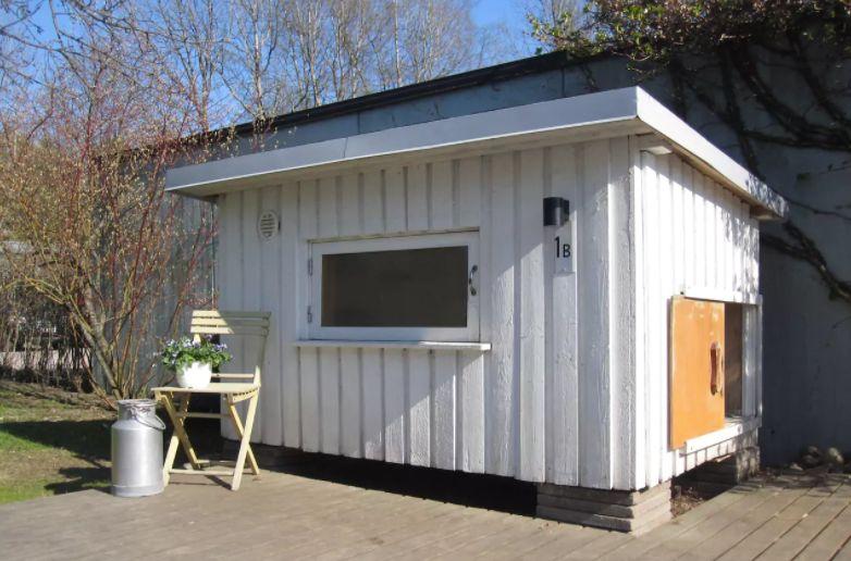 Гостевой домик для непривередливых туристов в собачьей будке