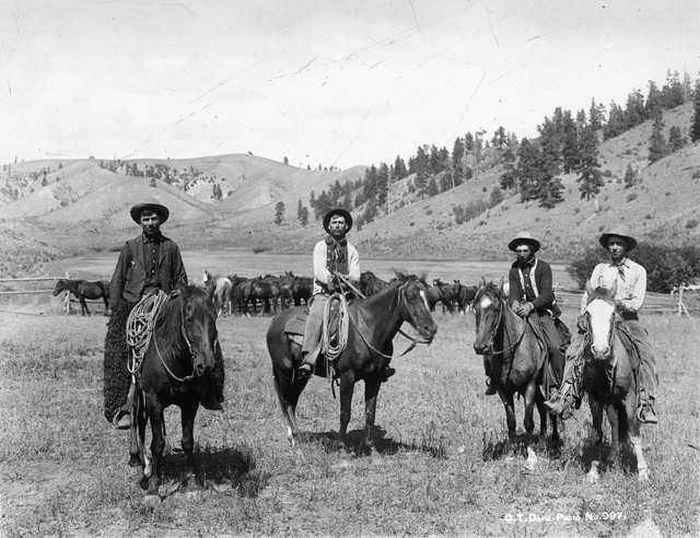 Интересные старые фото с Дикого Запада