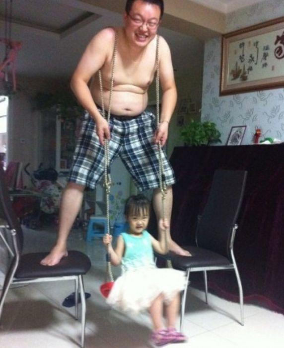 Когда папы справляются не хуже мам
