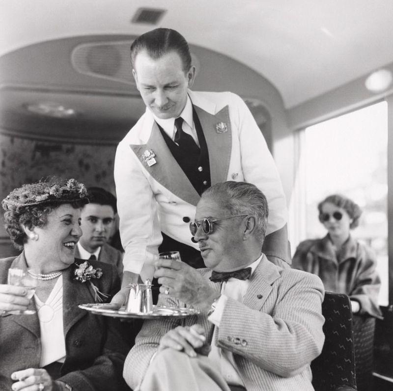 Комфорт британских поездов начала прошлого века