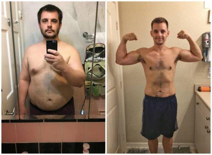 Мужчины в борьбе с лишним весом: тогда и сейчас