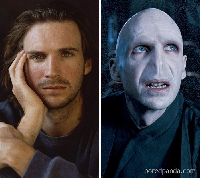 Невероятные преображения актеров с помощью грима