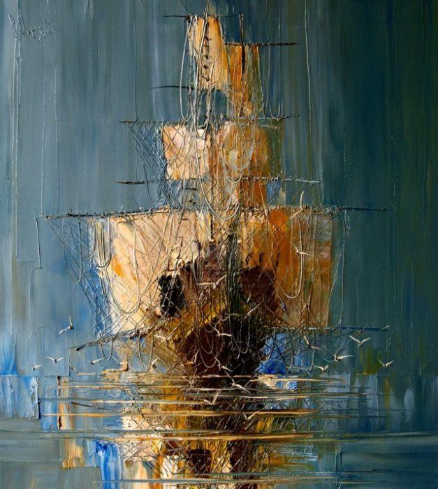 Прекрасные картины современных художников, написанные маслом