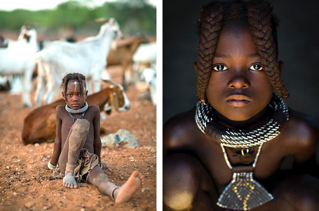 Жизнь намибийских племен от Эрика Лафорга