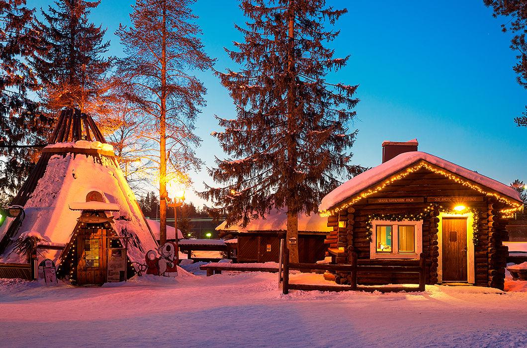 Лапландия — родина Санта Клауса