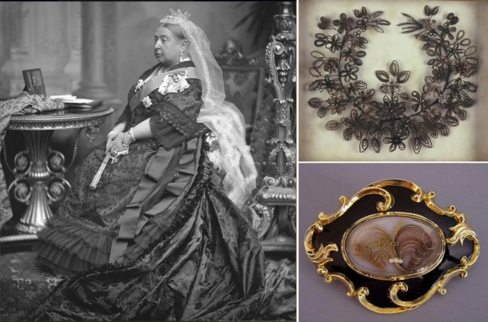 Необычные траурные традиции в Англии времён королевы Виктории