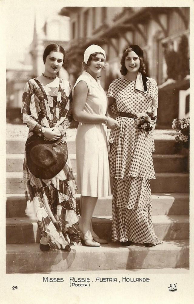 Ретрокрасавицы с конкурса Мисс Европа — 1930
