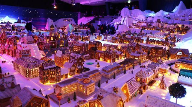 В Норвегии создали традиционный пряничный городок