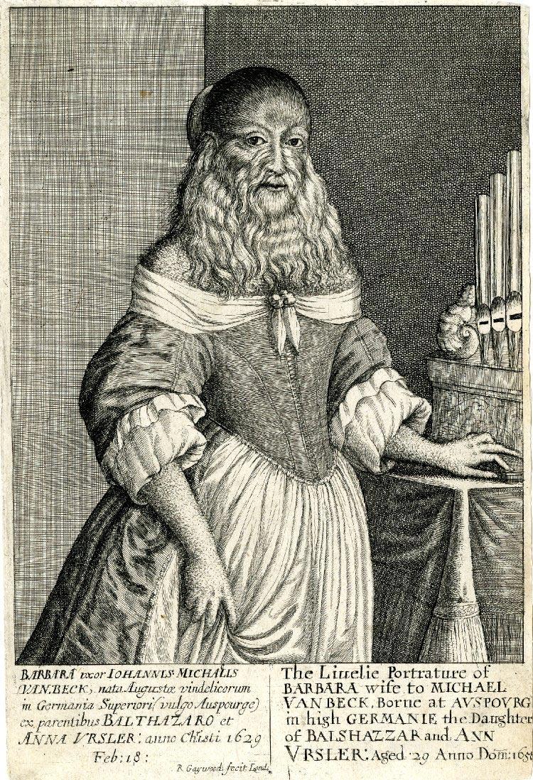 Барбара ван Бек — необычная бородатая модель художников 17 века
