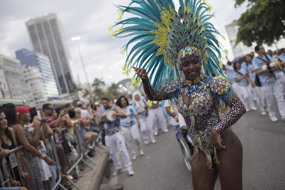 Бразильский парад школ самбы