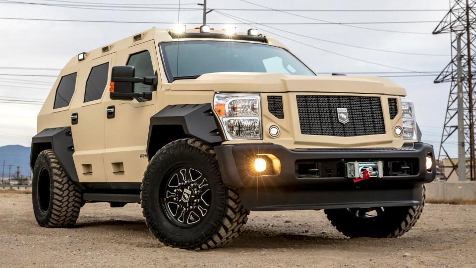 Бронированный внедорожник USSV Rhino GX Executive