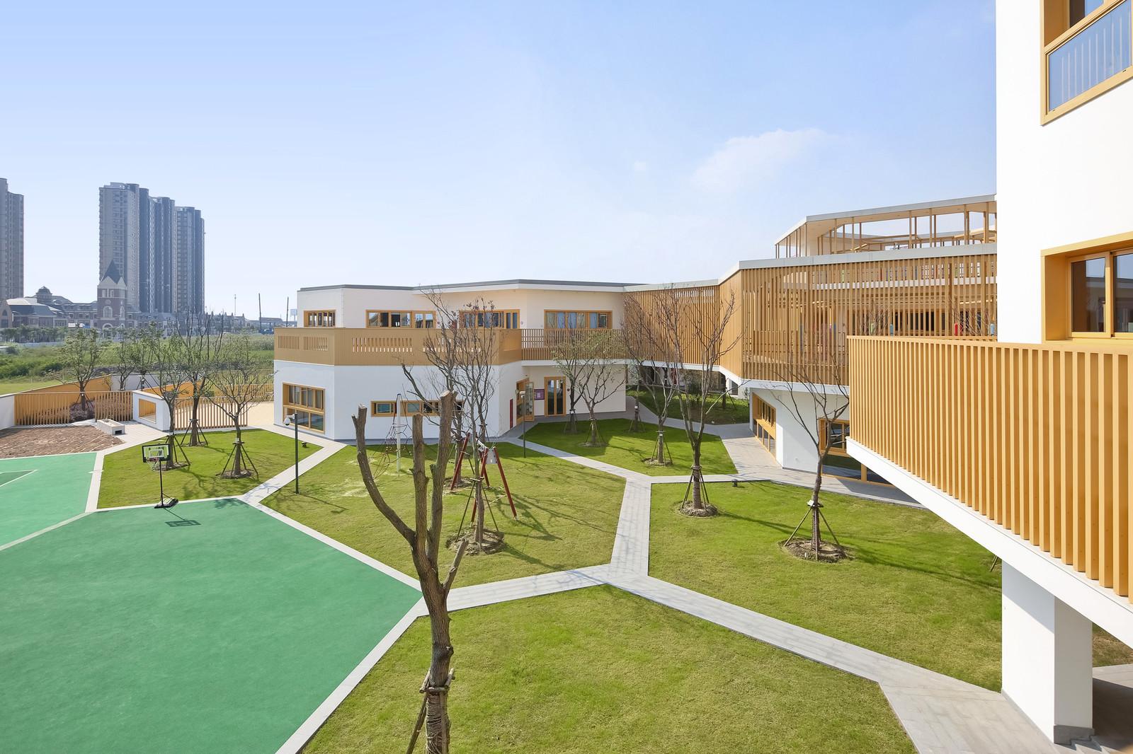 Детский сад при университете в Китае