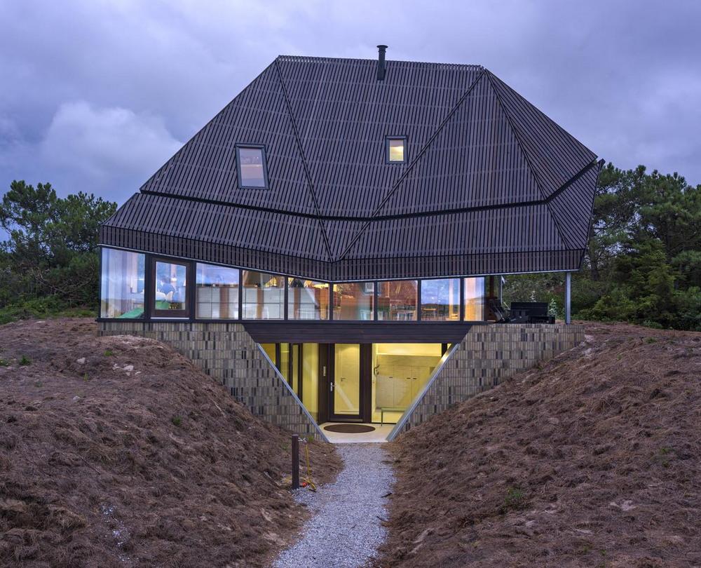 Дом на дюнах в Нидерландах