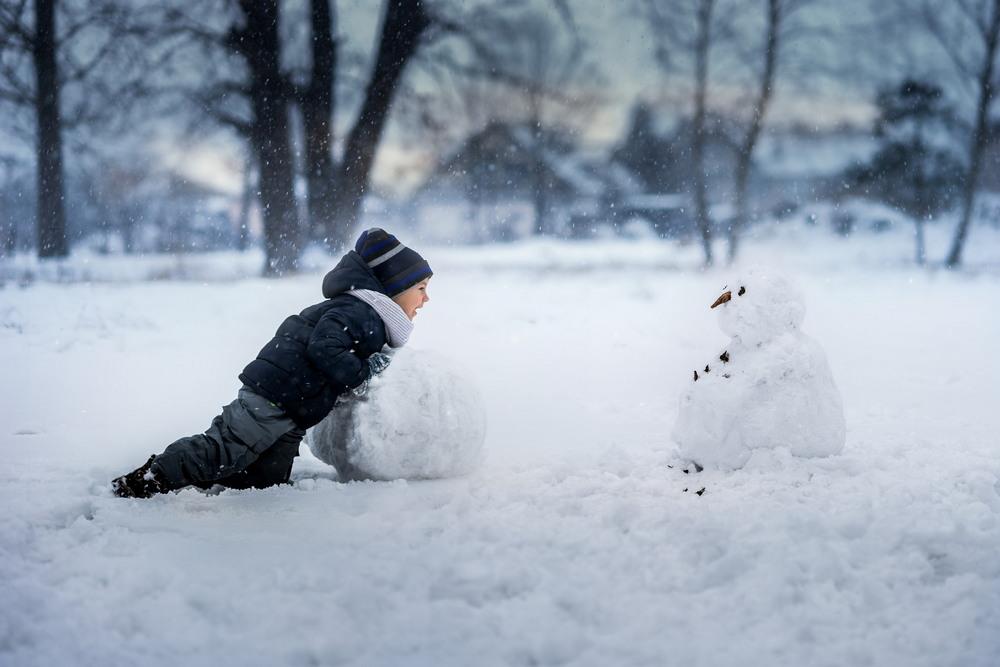 Фотографии о сказочном детском восприятии зимы