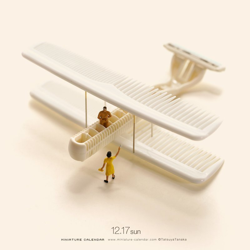 Календарь оригинальных миниатюр от Танаки Тацуя