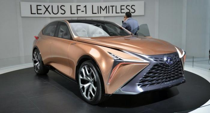Lexus LF-1 Limitless — концепт люксового внедорожника будущего