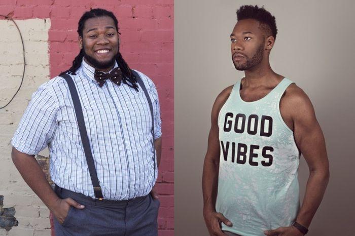 Преображение парней, сбросивших лишний вес