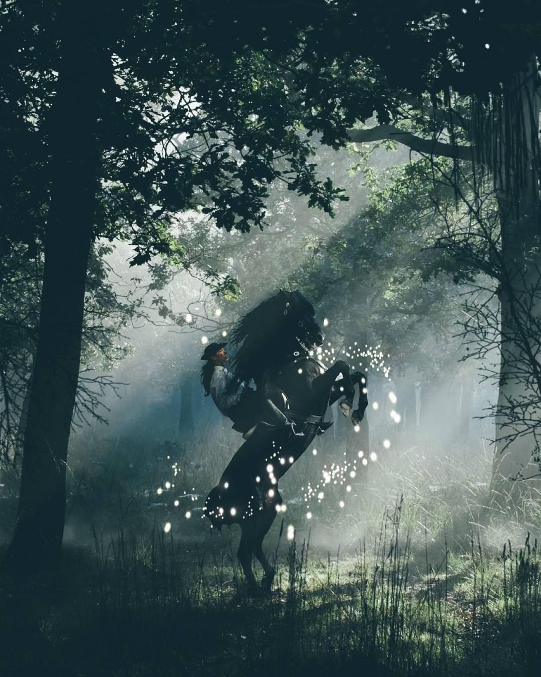 Сказочные фотоманипуляции от Keane Luong