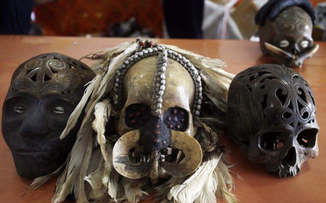 Человеческий череп как предмет контрабанды