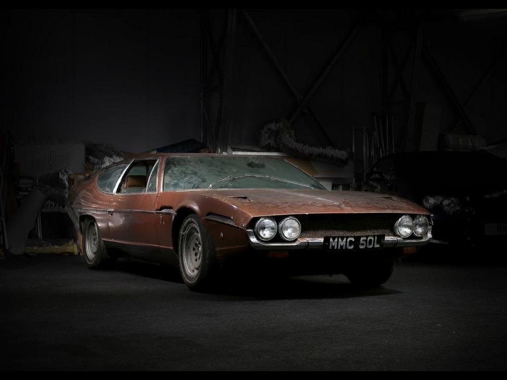 Классический Lamborghini выставлен на продажу