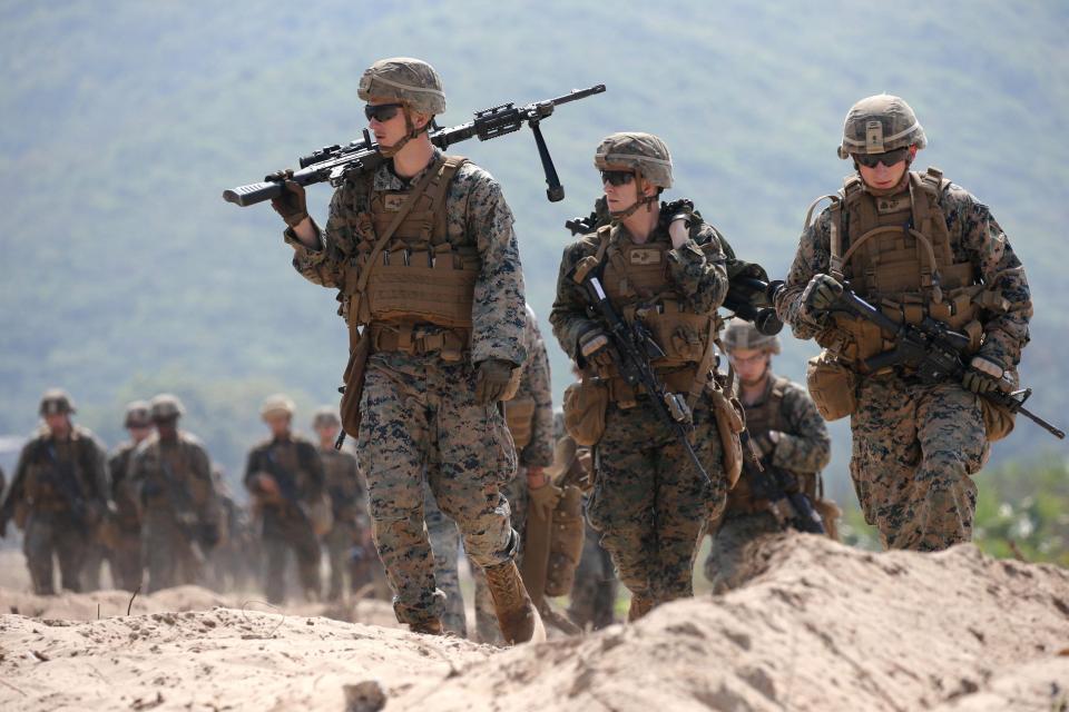 Курс выживания в джунглях для американских солдат