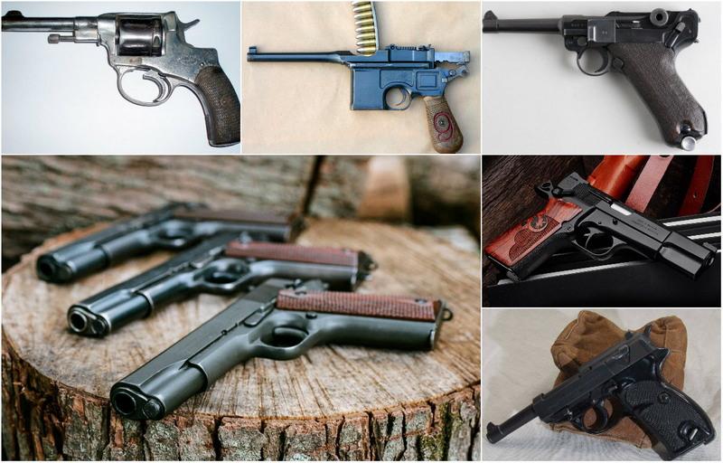 Легендарные пистолеты: от Кольта до советского ТТ
