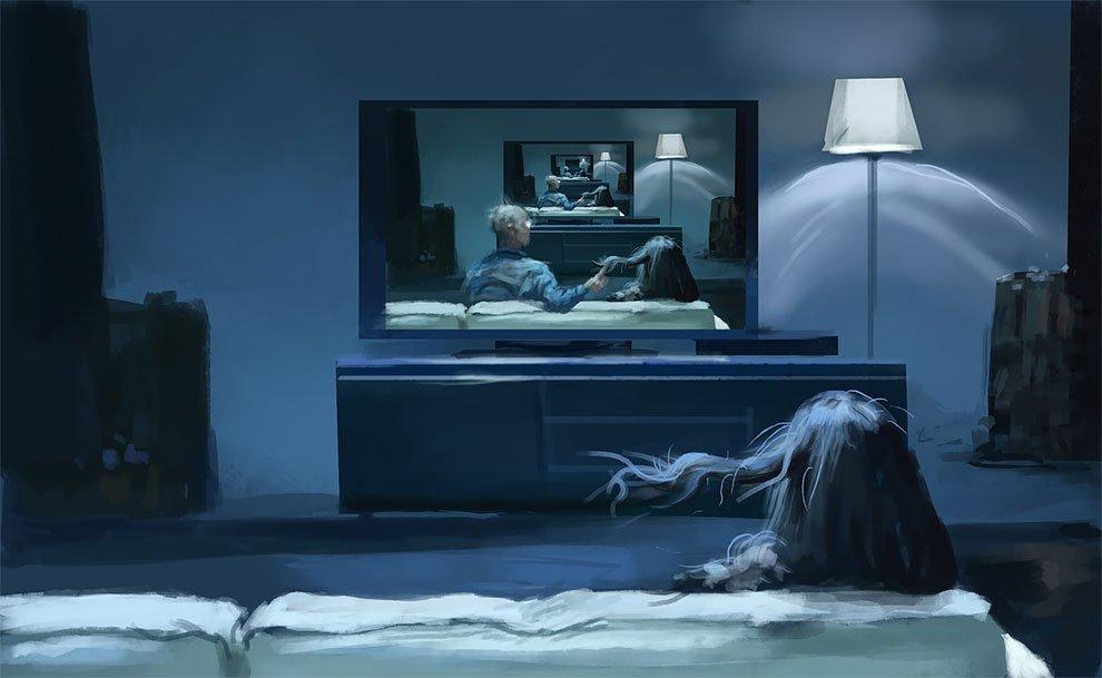 Мир кошмаров в искусстве Стефана Койдля