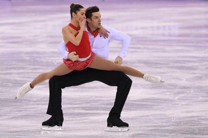 Неловкие кадры по-олимпийски