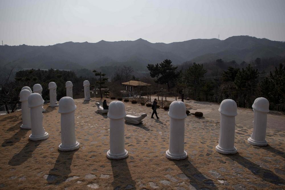 Парк пенисов в Южной Корее