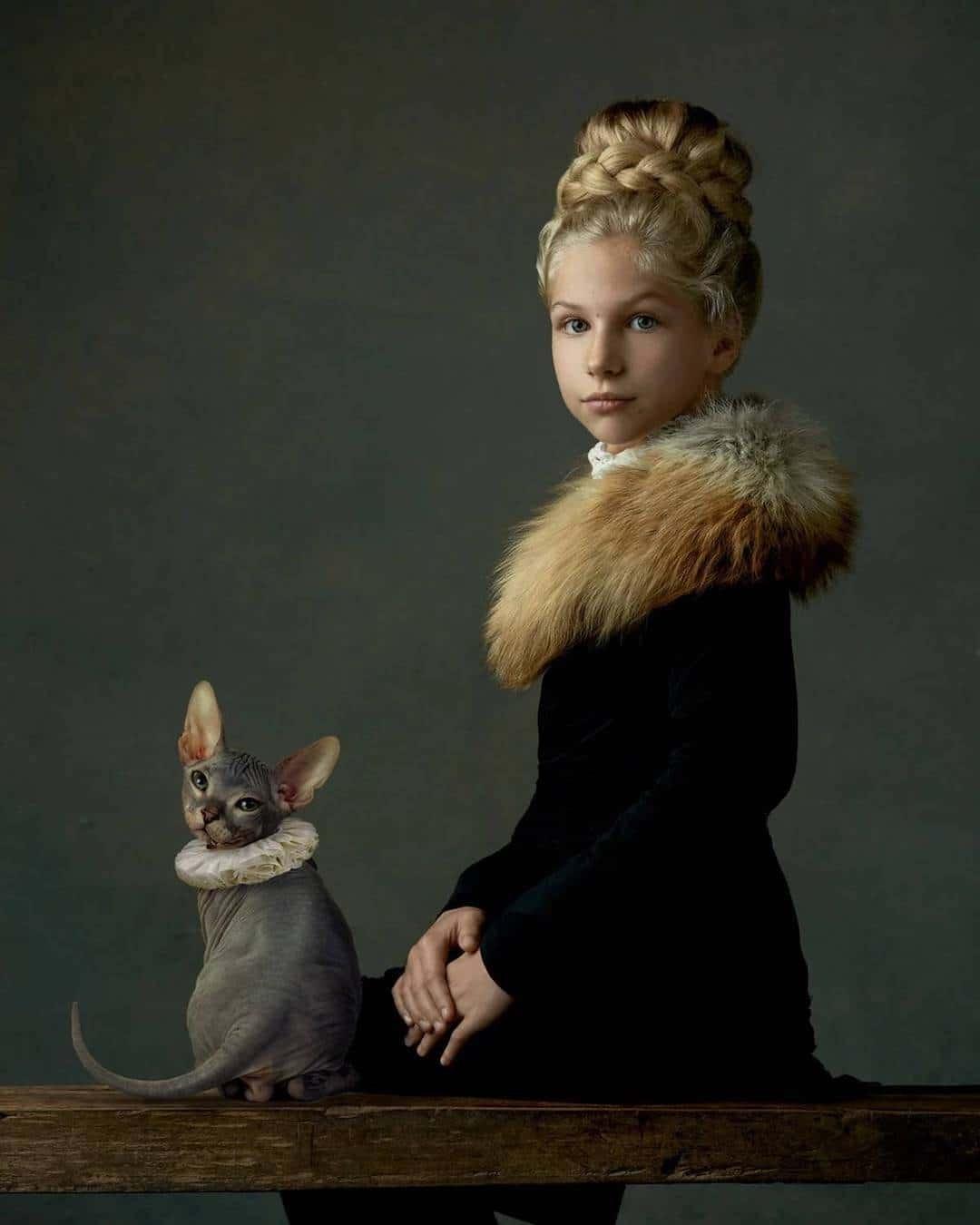 Портретные снимки в стиле эпохи Возрождения