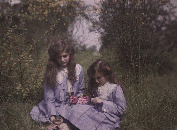 Самые старые в мире цветные фотоснимки