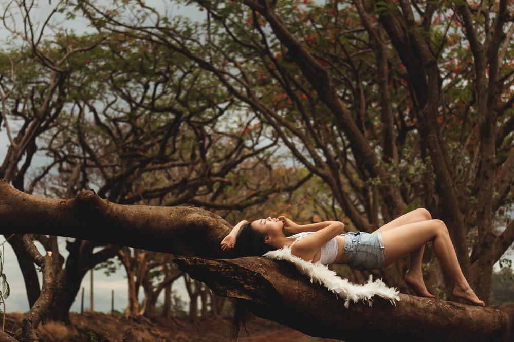 Снимки в жанре ню от Сюзи Годой