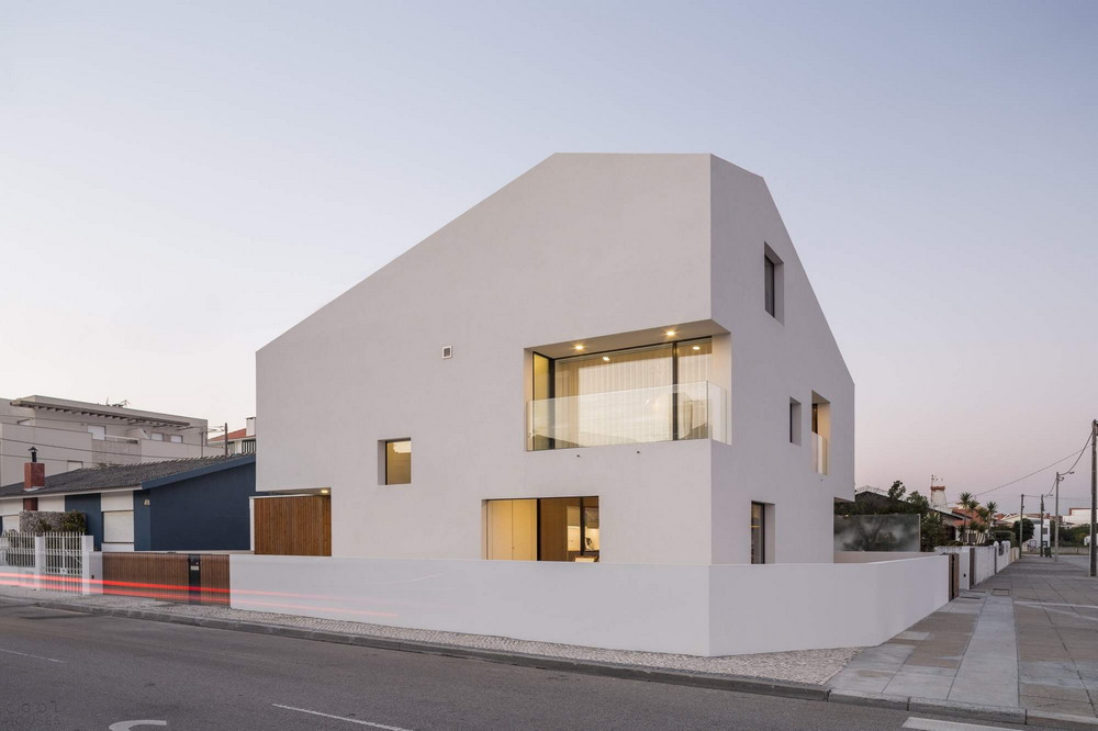 Стильная минималистическая резиденция в Португалии
