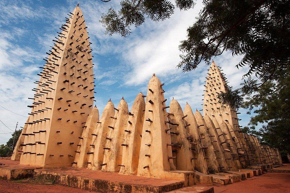 Великолепные мечети Западной Африки из сырцового кирпича