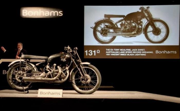 Vincent Black Lightning 1951 — самый дорогой мотоцикл в мире