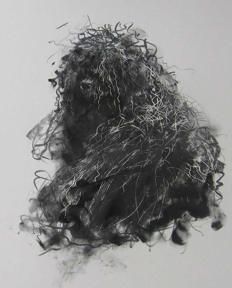 Выразительные собаки на акварельных рисунках Эндре Пеновака