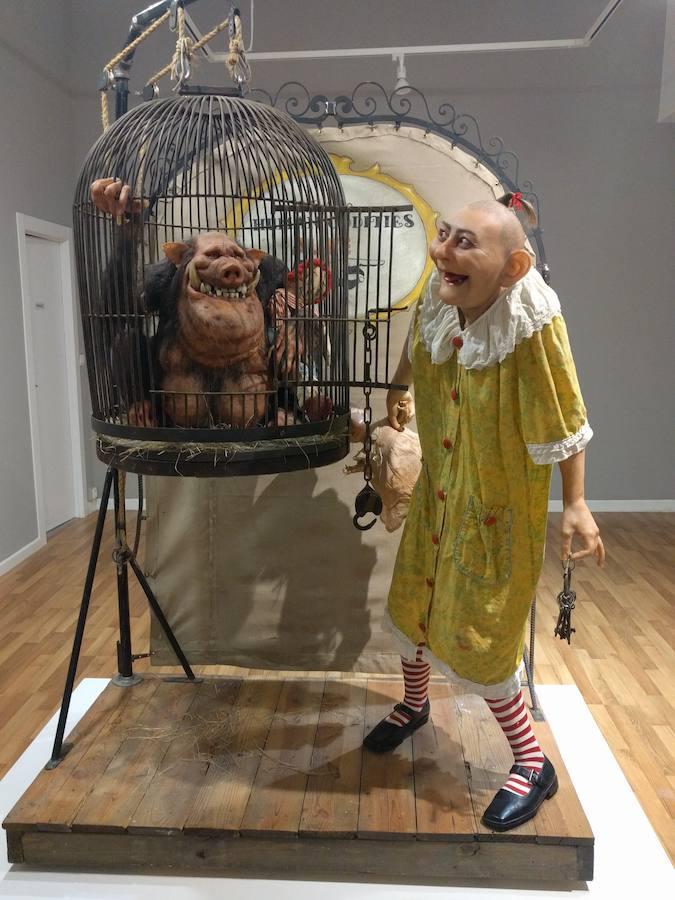 Выставка скульптора Томаса Кюблера в Испании