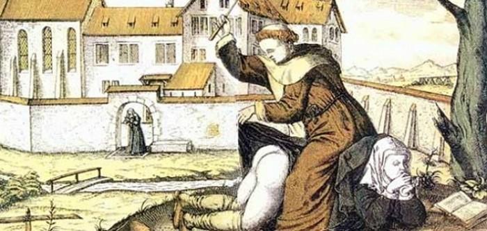 Жестокие наказания для женщин в Средневековье