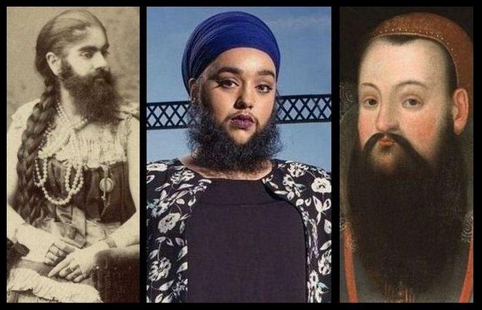 10 бородатых женщин разных времен
