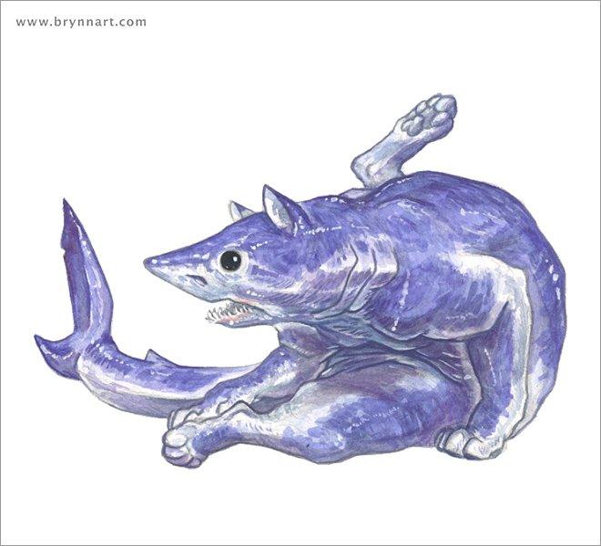 Кошачьи акулы от Бринна Метени