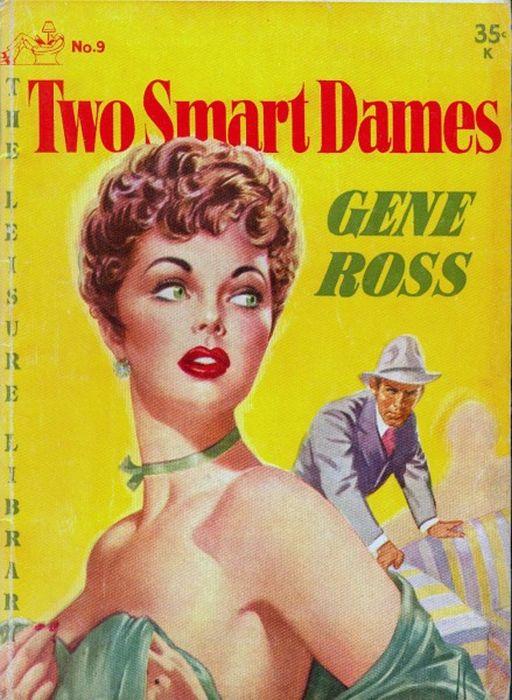 Красавицы на обложках журналов 40-60-х годов